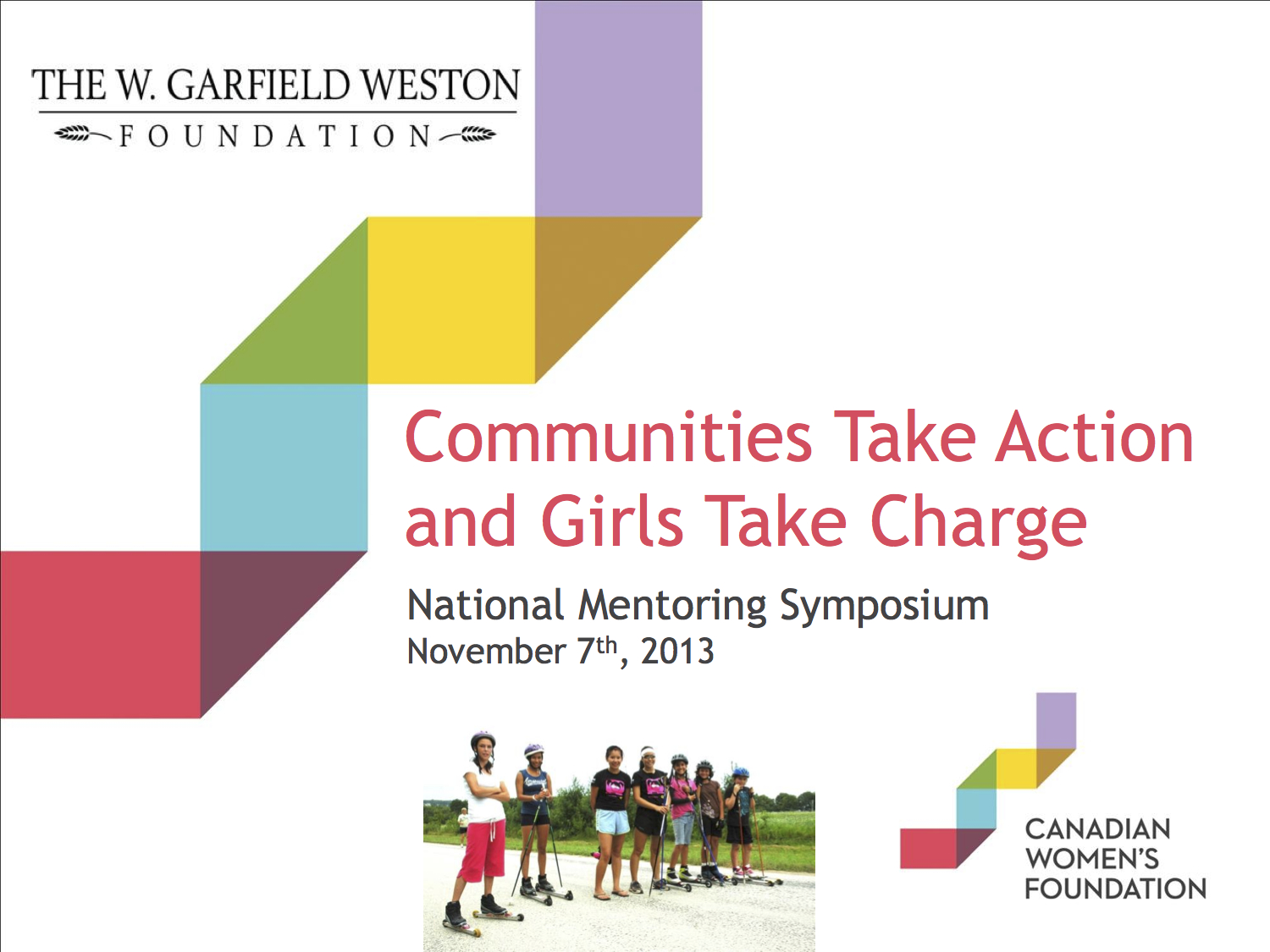 Communities Take Action and Girls Take Charge: Community-Based Approaches to Girls Group Mentoring in Canada