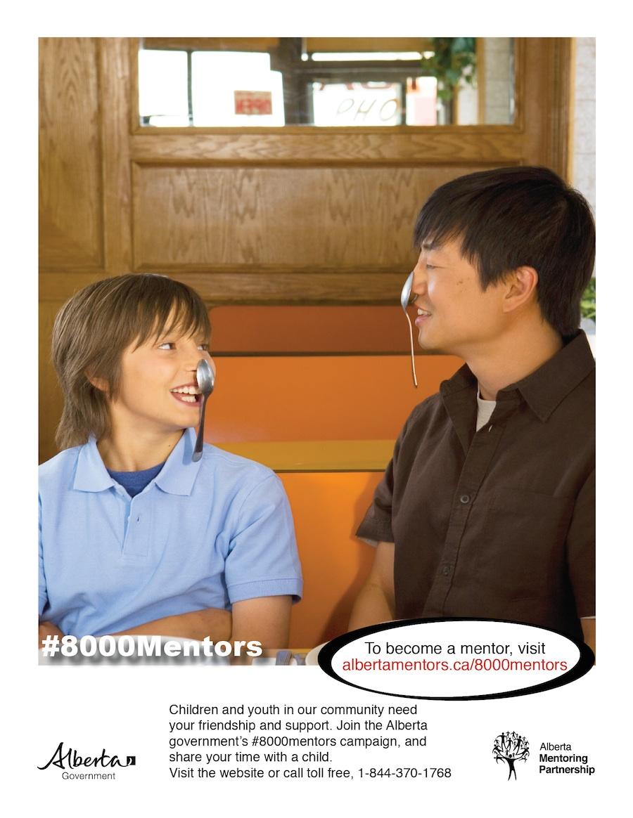 #8000Mentors Campaign - Alberta Mentoring Partnership