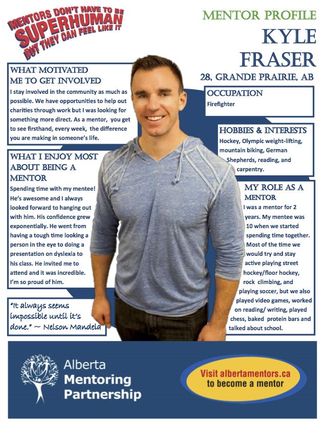 Mentor Profile Kyle Fraser