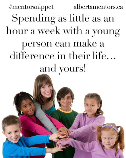 Spending as little as an hour a week with a young person can make a difference in their life...and yours!